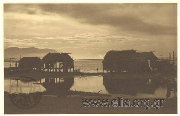 Πελάδες στη Λιμνοθάλασσα 1920