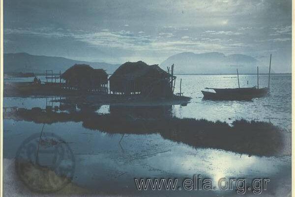 Πελάδα, Λιμνοθάλασσα 1920