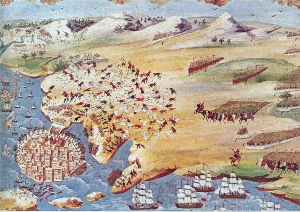 Έναρξη Τρίτης Πολιορκίας του Μεσολογγίου